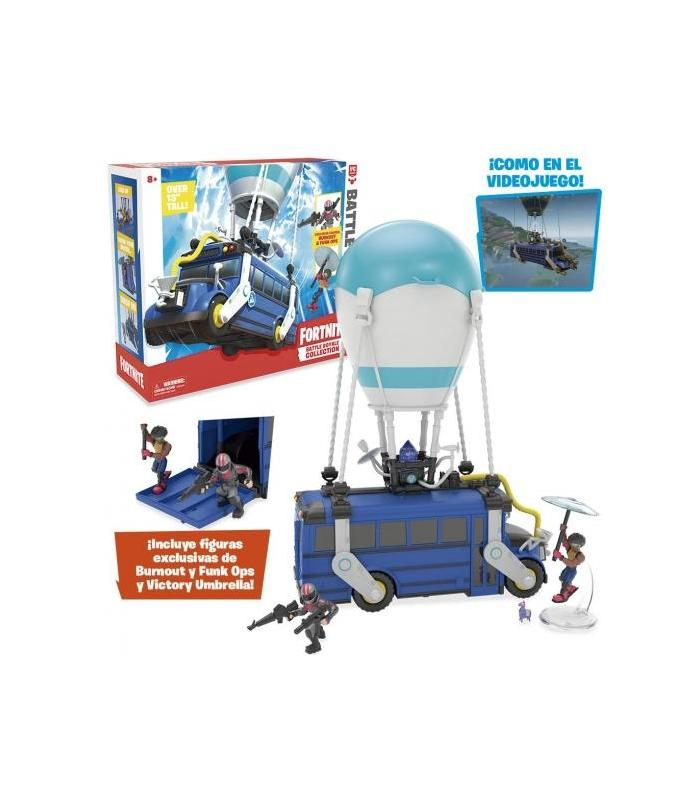 Fortnite Battle Bus + Figure Toy Store