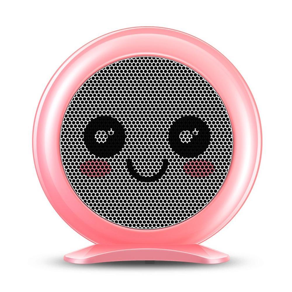 Taşınabilir sevimli elektrikli Fan ısıtıcı ev ısıtıcı soba radyatör ısıtıcı makinesi kış için