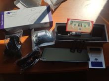 I am very happy. Shipping from Spain in 2 days. It overlays on your rearview so it easily