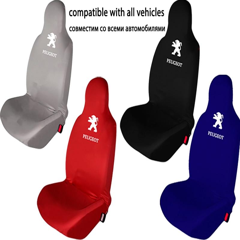 Новинка чехол для автомобильного сиденья Peugeot универсальные автомобильные аксессуары для интерьера полностью из хлопка для внедорожника ...