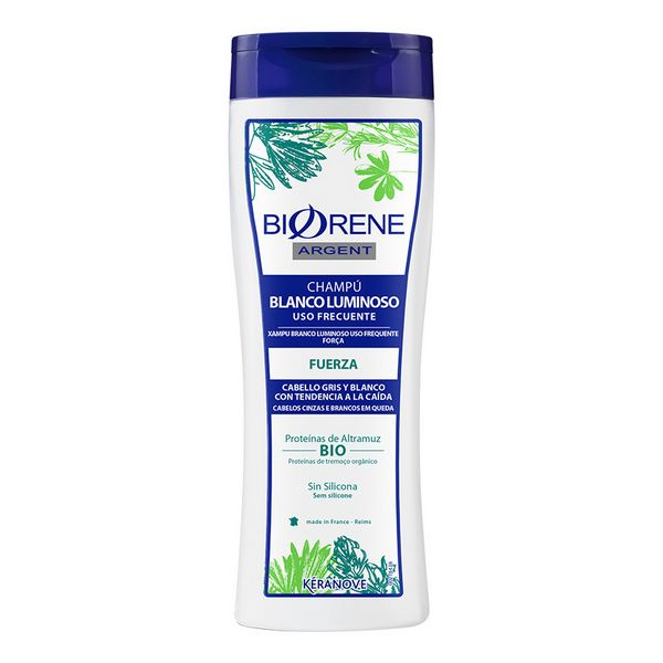 Strengthening Shampoo Biorene Argent Eugene Perma (200 Ml)