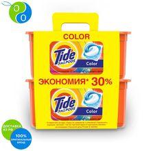 Капсулы для стирки Tide Color 30+30 шт