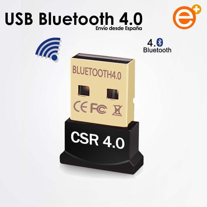 Беспроводной приемник Nano USB Bluetooth 4,0 в черный антенный адаптер для заказа в Windows 10 7 XP Трансмиссия Bluetooth