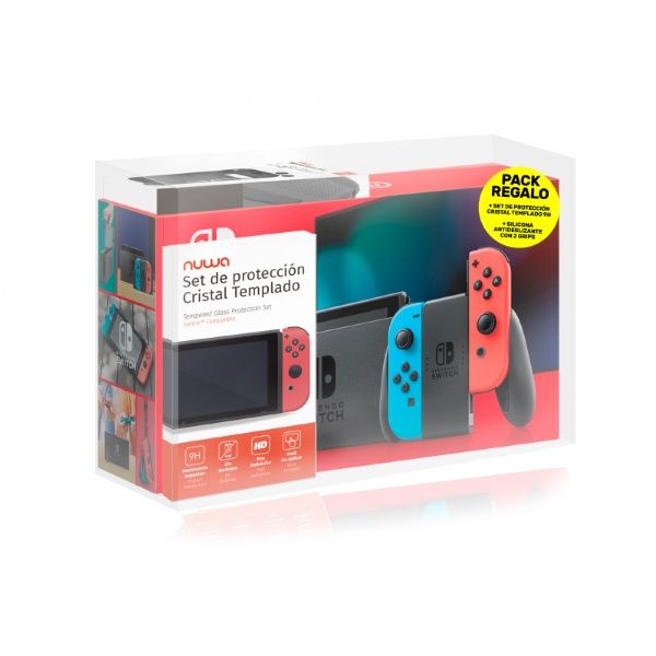 "Nintendo Switch Nintendo 6 2"" LCD 32 GB WiFi Red Blue