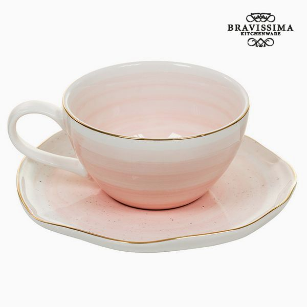 Cup With Plate 250 Ml - Queen Kitchen Collection
