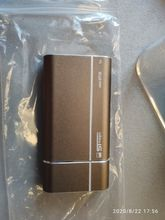 Delivery was fast. The disk is miniature, it is heated quite palpable when copying files,