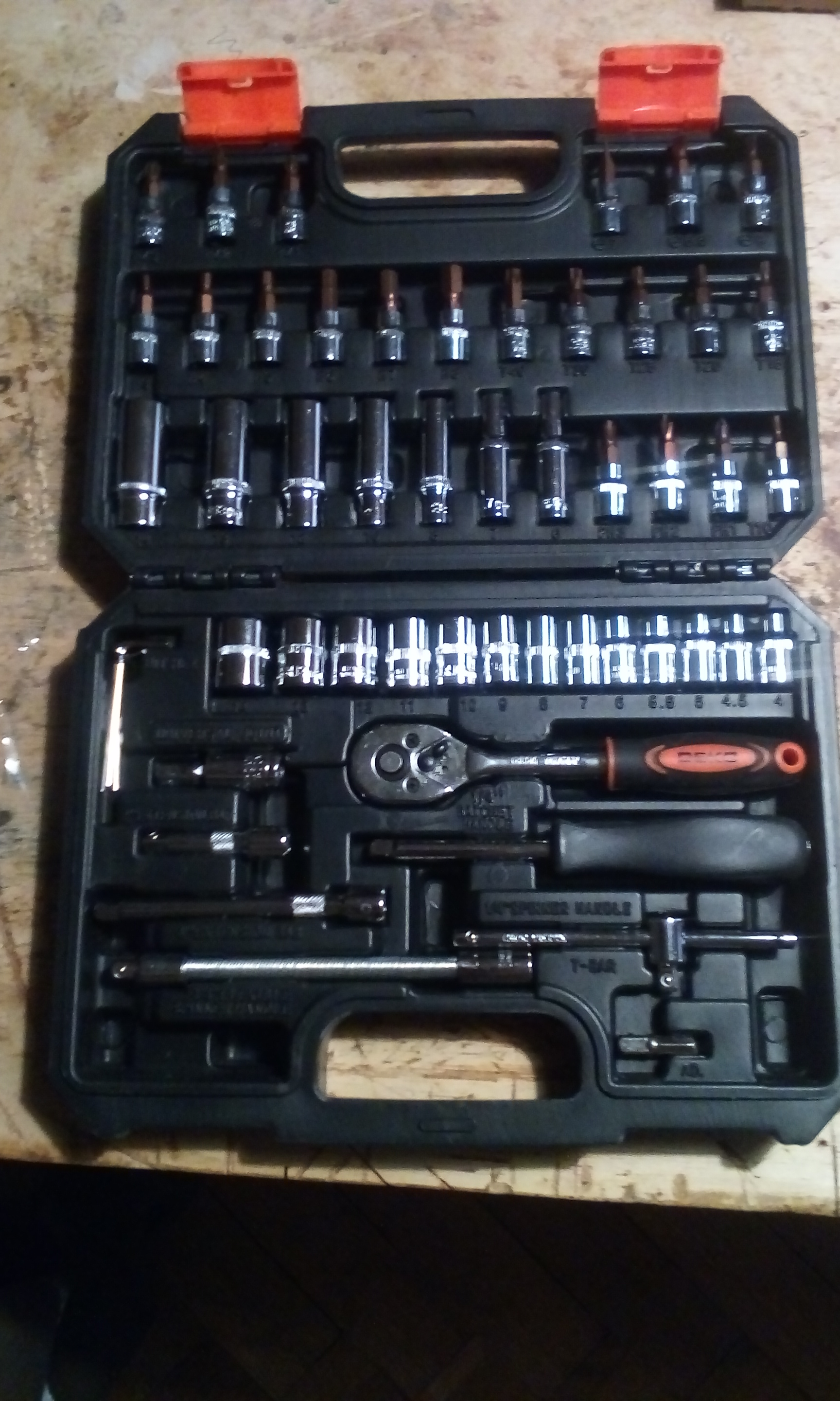 Tool set Deko tz53 (53 PCs) tool case 1/4 professional wrench with heads set free shipping|Hand Tool Sets| |  - AliExpress