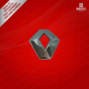 BSP885 передний багажник решетка капота значок наклейка логотип эмблема 628909470R для Renault Captur Clio 4 Dacia Logan Fluence Megane Scenic 3