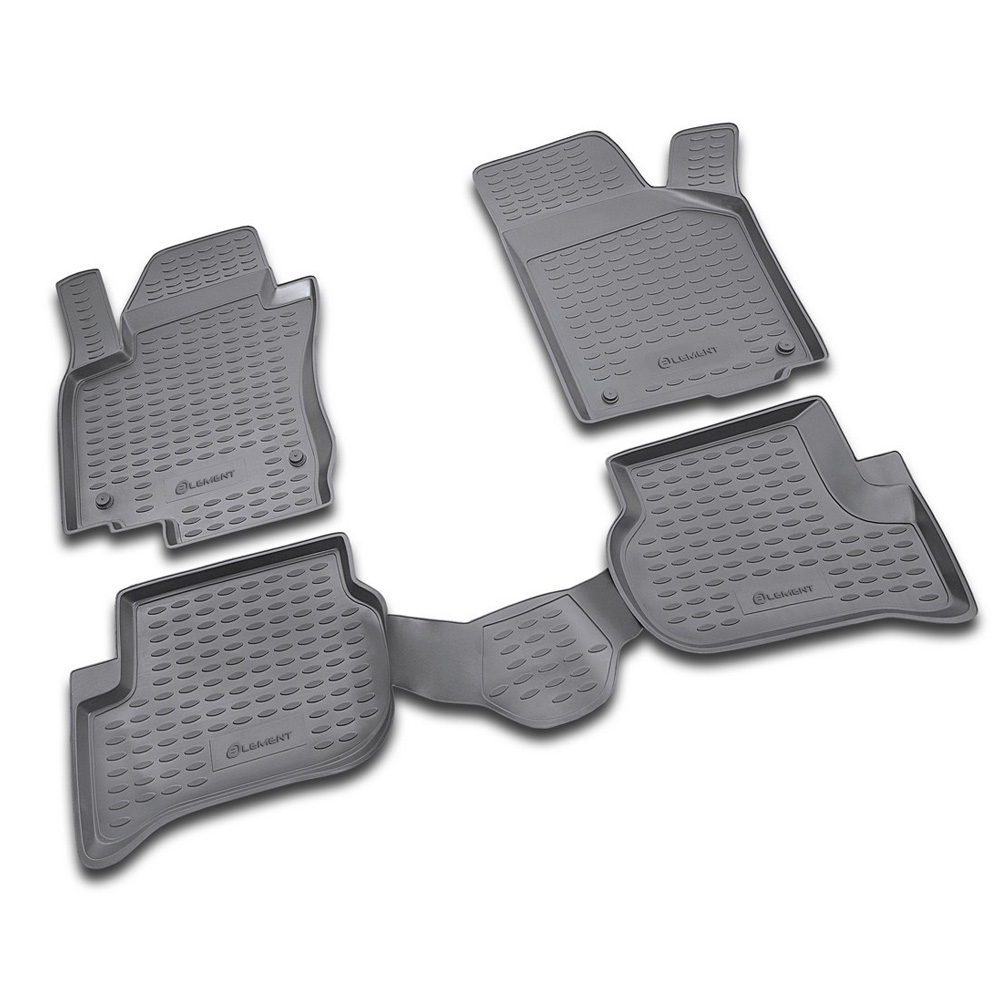 Floor Mats For VW Golf Plus 12/2004, 4 PCs NLC.51.16.210
