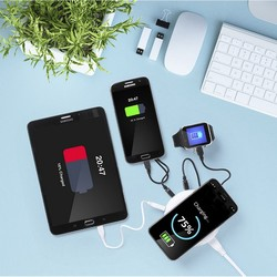 Wireless Qi Charger with USB Ports 3100 mAh 145955