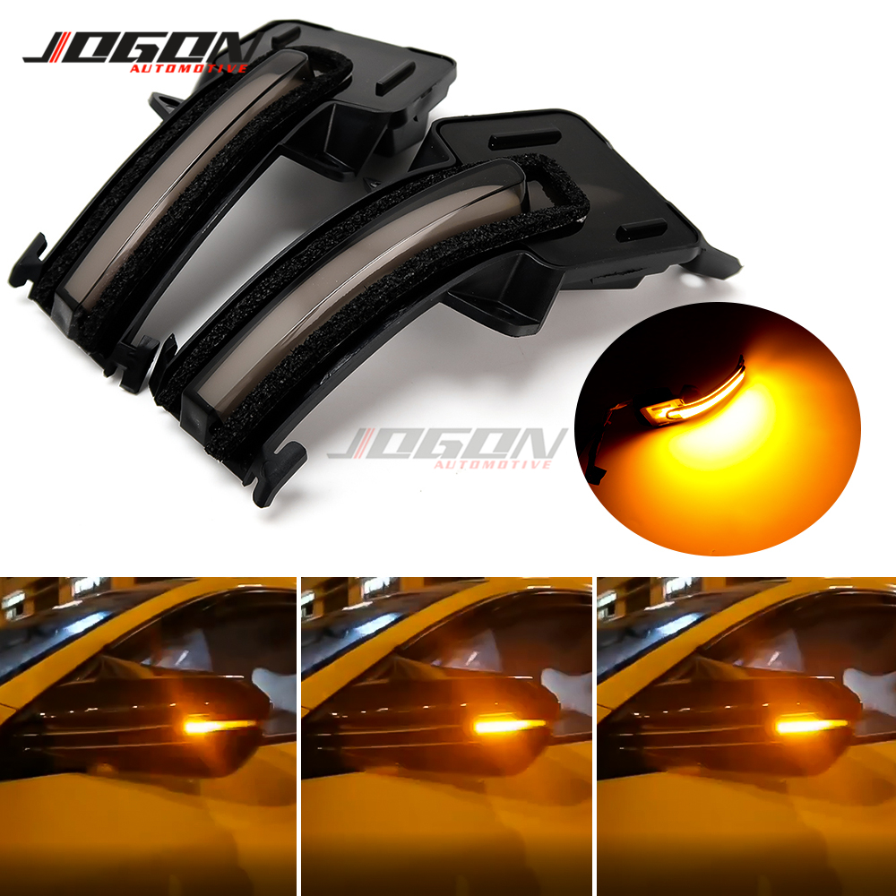 LED Car Side Wing Rearview Mirror Sequential Dynamic Turn Signal Light Blinker Lamp For Civic 10th FC / FK 2016 2017 2018 2019