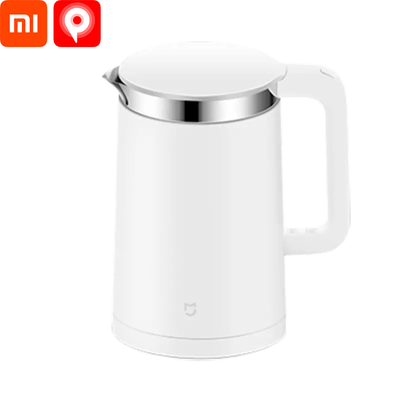 Xiaomi MiJia Constant Temperature Electric Kettle 1.5L/1800W Quick Heating  304 Stainless Steel Heat Preservation Function