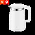 Xiaomi mini Jia temperatura constante eléctrica hervidor de agua/1.5L eléctrico puerto/hervidor de agua/acero inoxidable/constante temperatura/calefacción rápida/café/púrpura/puerto/eléctrica café Blanco