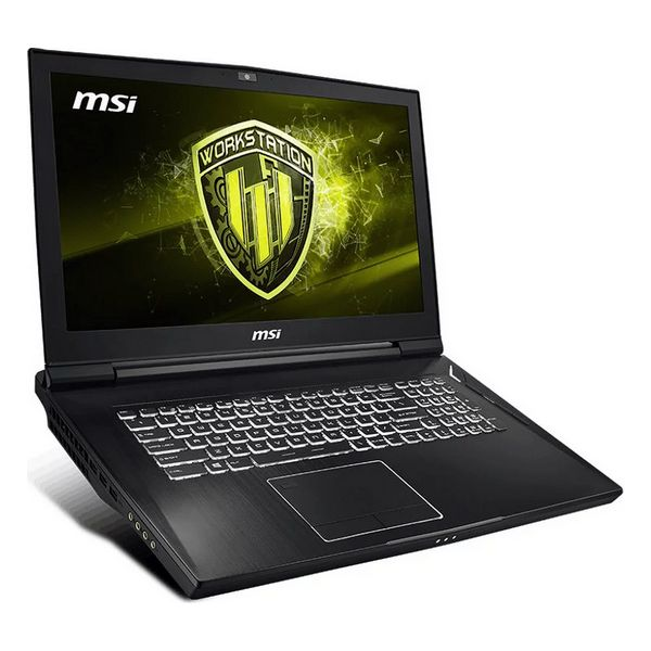 """Notebook MSI WT75-097ES 17,3"""" I7-9700K 64 GB RAM 1 TB SSD Black"""