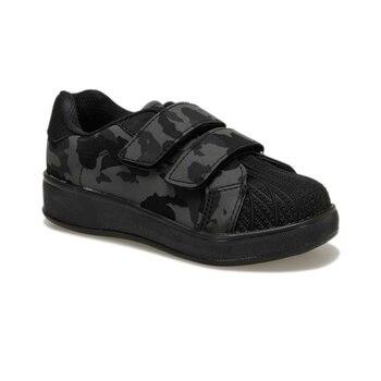 FLO 92. 510805.P Черная Мужская детская обувь Polaris