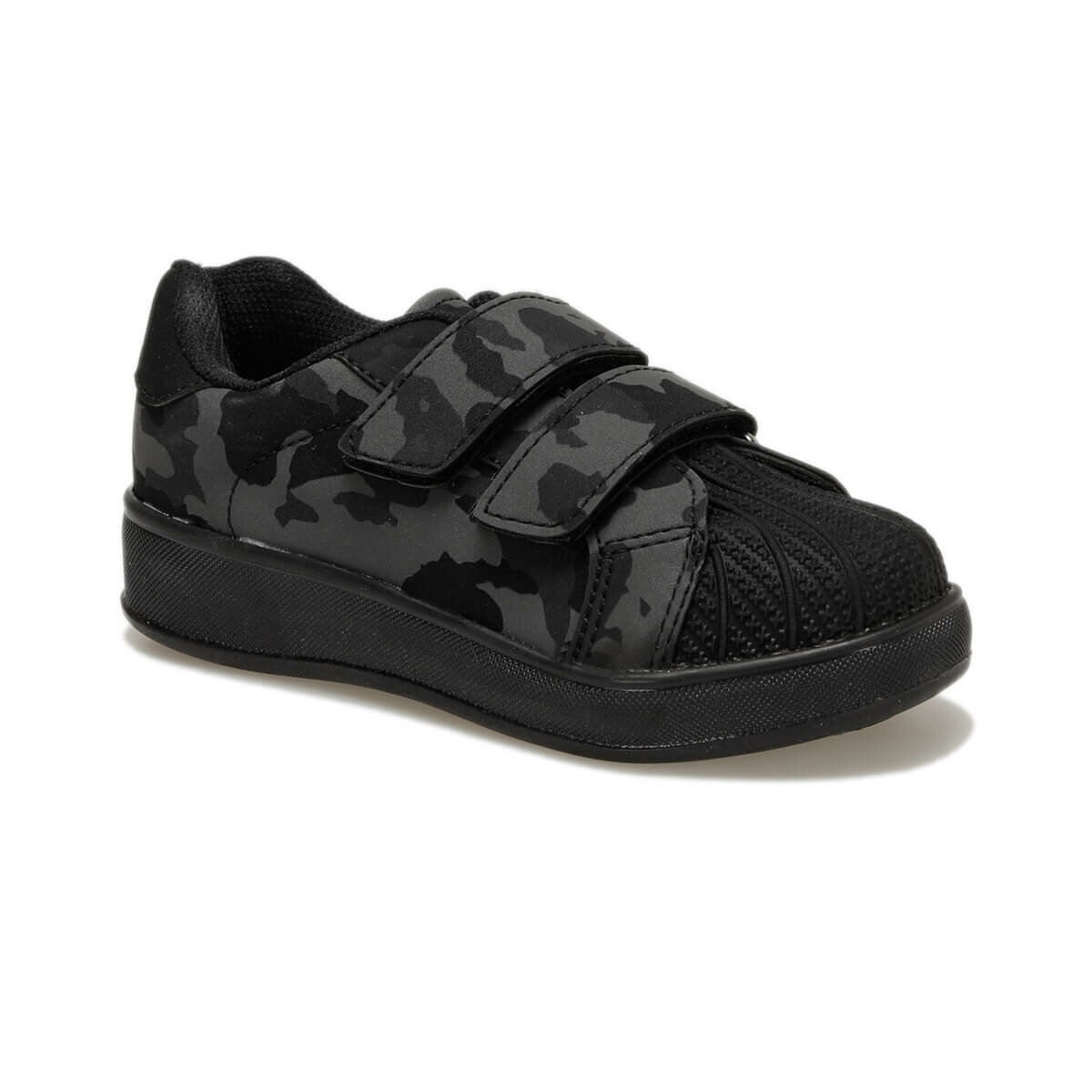 FLO 92.510805.P Black Male Child Shoes Polaris