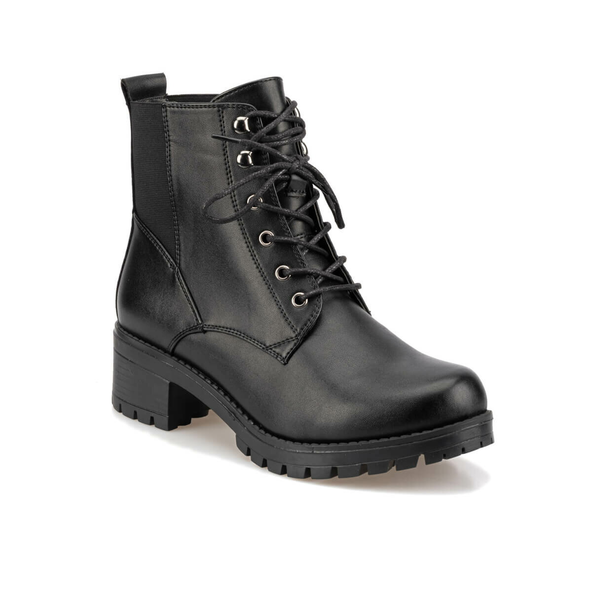 FLO 92.309258.Z Black Women 'S Casual Boots Polaris