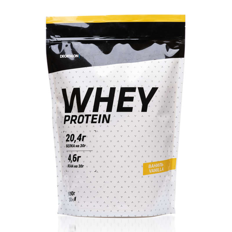 WHEY Протеин ваниль 900 г. Х Decathlon