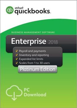 ✅Интуитиit QuickBooks Enterprise 2018Срок службы ключ⚡Windows⚡Полный activé✅