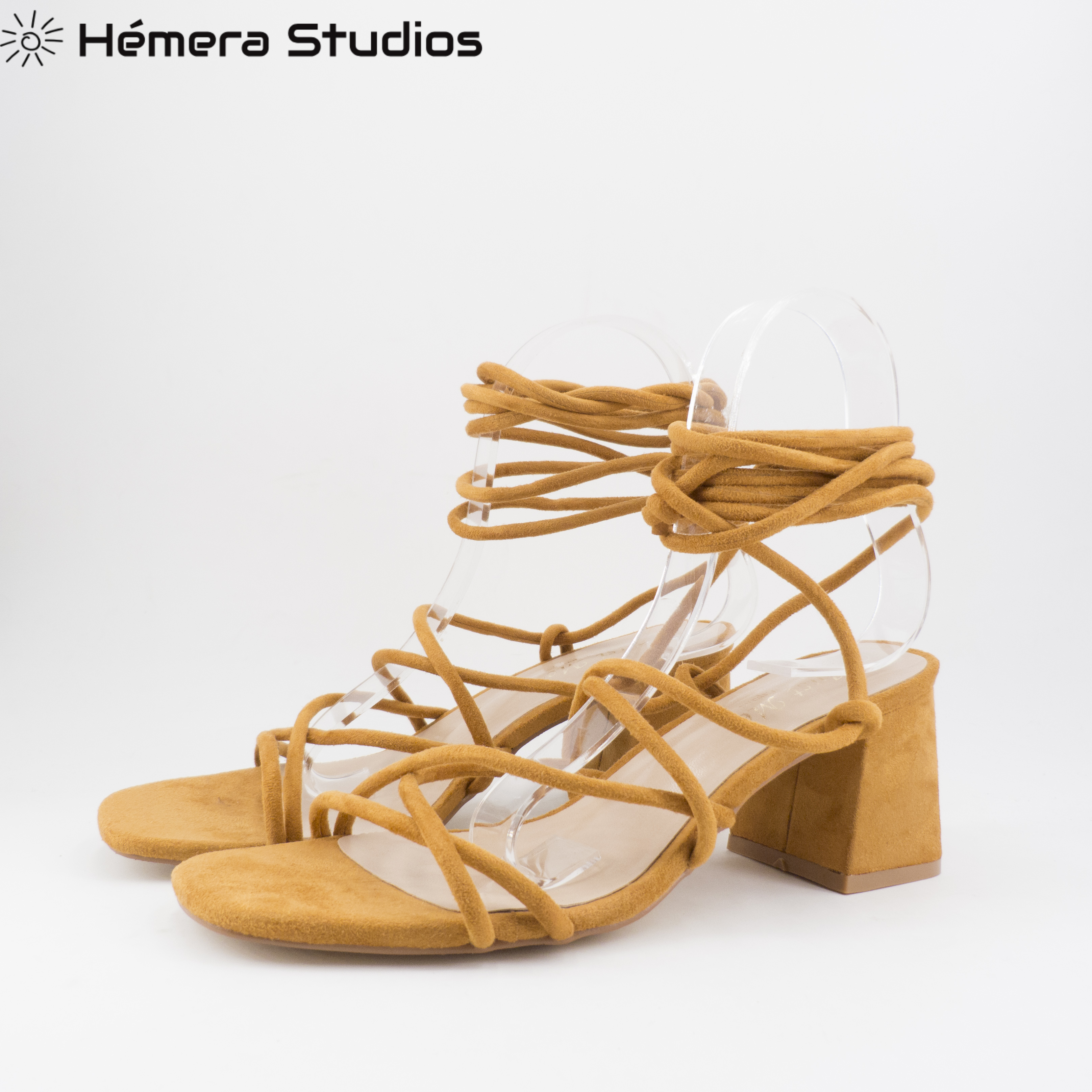 Summer For Woman 2020 Shoes Woman Sandals Pumps High Heel In Camel And Black With Tacks Comfortable Breathable