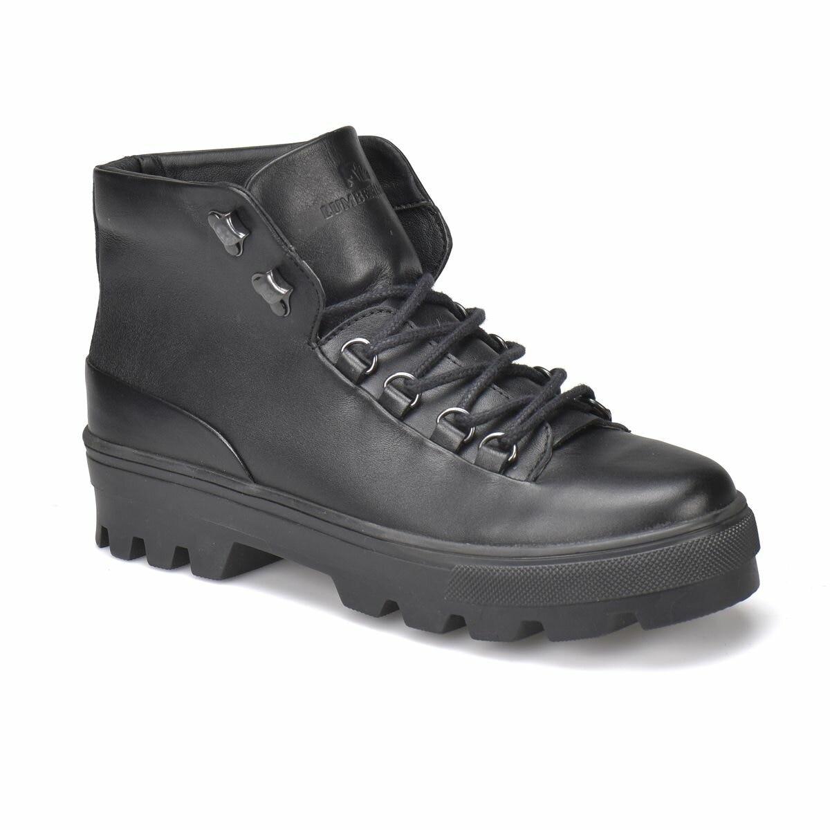 FLO GOLDY Black Women Boots LUMBERJACK