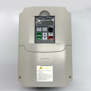 5.5KW/7.5KW 220v/380v Single Phase input and 3 Phase Output Frequency Converter/Adjustable Speed Drive/ VFD For spindle motor