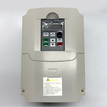 цена на 7.5KW 10HP 400HZ VFD Inverter Frequency converter single phase 220v input 3phase 380v output 18A for 7.5HP motor