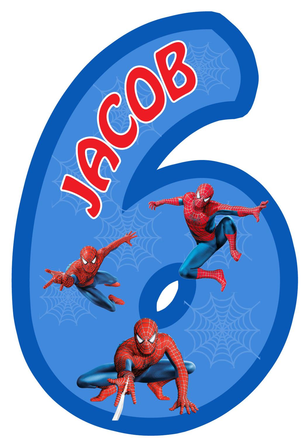 personalized spiderman birthday set photo background banner water bottle labels cupcake toppers stickers