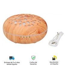 Difusor de aroma 5 en1 Grundig, humidificador, colorterapia, ambiente limpio y agradable, temporizador, relajación, decorativo
