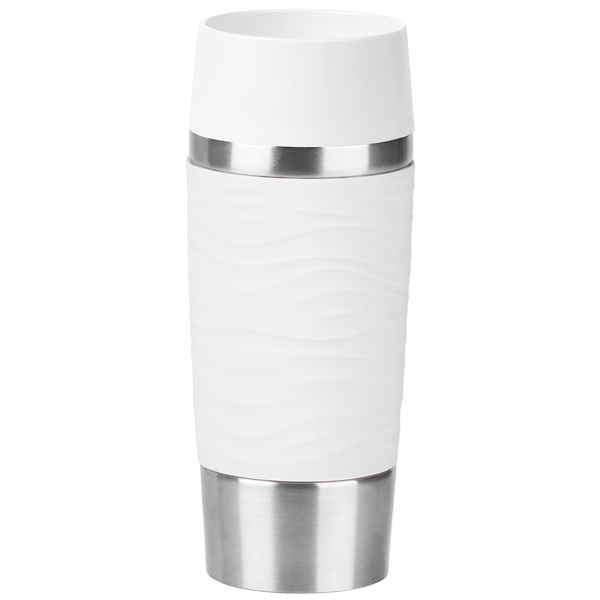 Термокружка Emsa Travel Mug Waves 0,36л White (N2011000)| |   | АлиЭкспресс