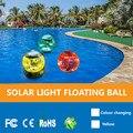 Абая 2019 Новый Водонепроницаемый светодиодный фонари на солнечных Мощность многократно Меняющие цвет водные плавучие лампы с плавающей све...