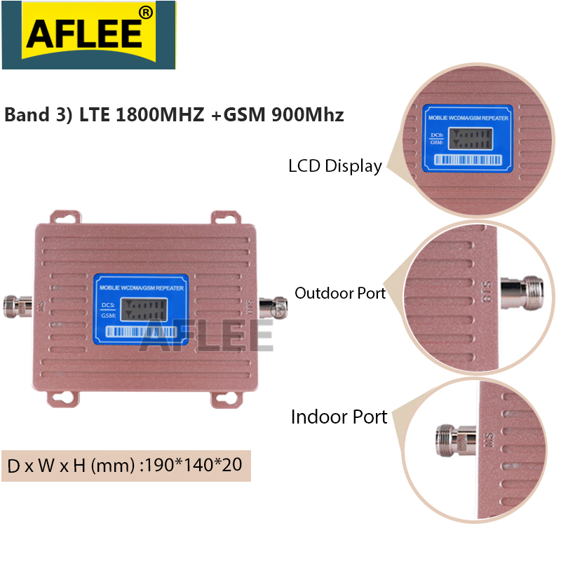 900 1800 2100 Gsm Repeater 2g 3g 4g Cellular Signal Amplifier Lte 3g 4g Dcs Cellular Amplifier 4g Network Mobile Signal Booster Signal Boosters Aliexpress