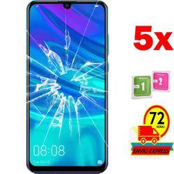 5x Protectors Screen szkło hartowane dla HUAWEI P SMART 2019 (nie pełne patrz informacje)
