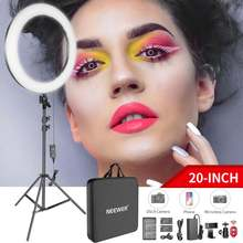 Neewer 20 дюймовый светодиодный светильник кольцо набор для