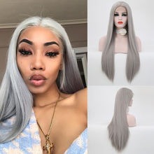 Charisma Middle Part Synthetic Lace Front Wig For Black Wome