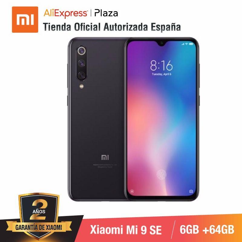 Global Version For Spain] Xiaomi Mi 9 SE (Memoria Interna De 64GB, RAM De 6GB, Triple Camara De 48 MP) Smartphone