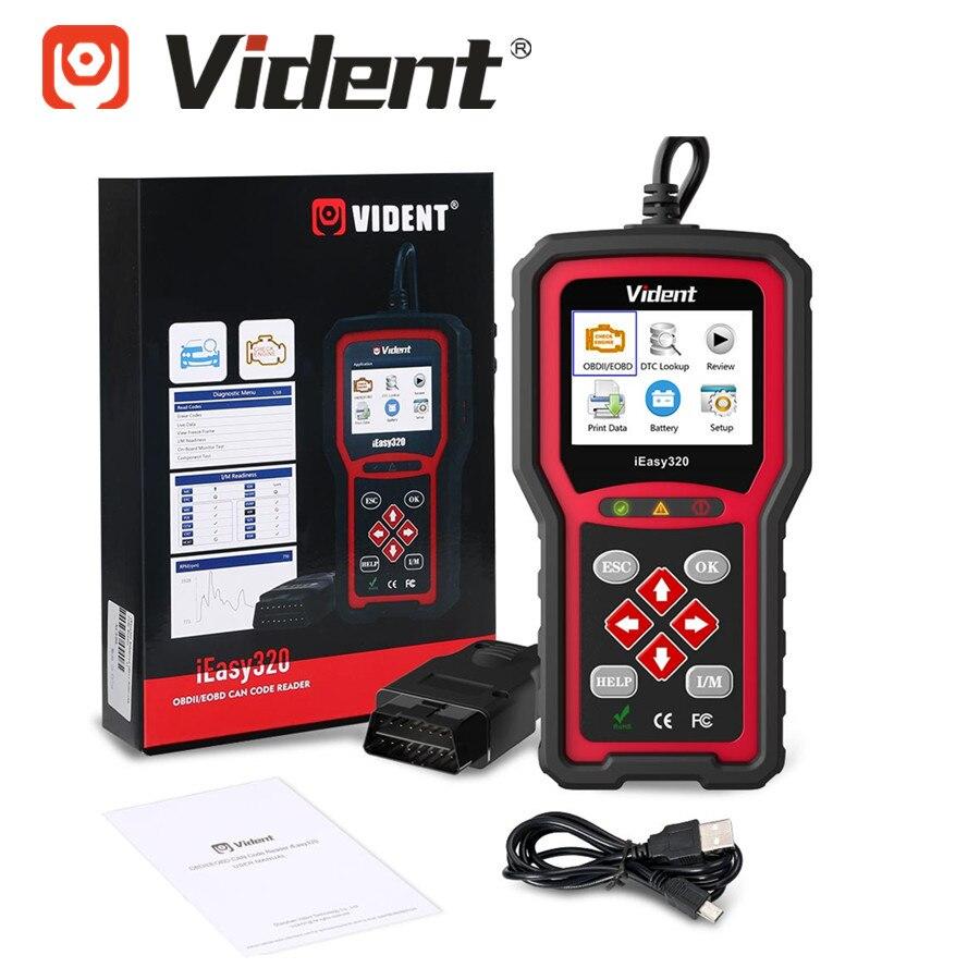 VIDENT IEasy320 IEasy 320 OBDII/EOBD+CAN Code Reader
