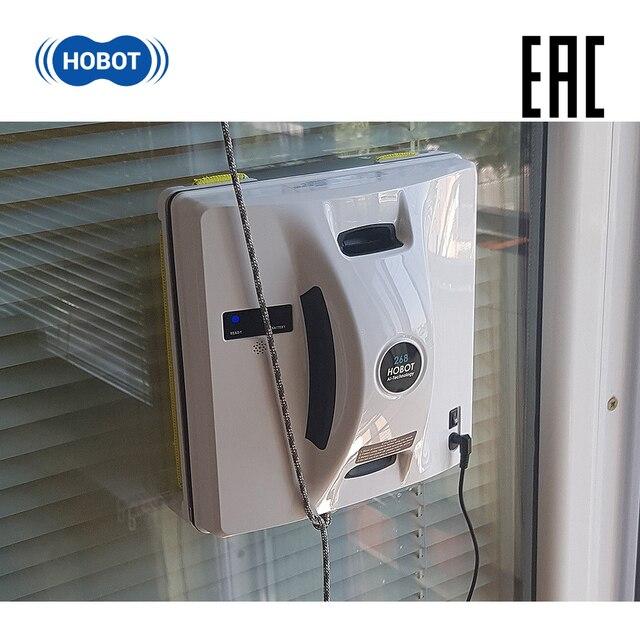 HOBOT 268 мощный робот мойщик окон для автоматической мойки окон внутри и снаружи стекломойщик с дистанционным управлением