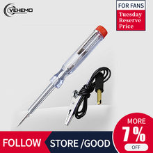 Universal Tester Pen Screwdriver Voltage Car Circuit ABS+Metal Pratical Electric Test Circuit Tester Pen Durable(China)