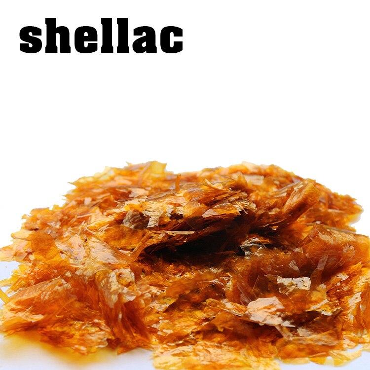 Orange Shellac Flakes 500g  Shellac Varnish Natural Golden Shellac Instant Strong
