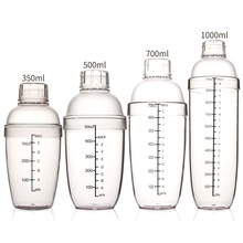 1PCS Martini Cocktail Shaker Bottle Scale Champagne Wine Beverage Mixer Fruit Juice Snow Grams Cup Bar Bartender Tool