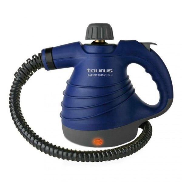 Пароочиститель Vaporeta Таурус рапидиссимо Чистый Новый 3 бар 0350 л 1050 Вт синий