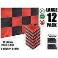 """Arrowzoom Multi Keil 12T Akustische Studio Schaum Fliesen Sound Absorption Panel 30x30 cm (11 8x11 8 """") farbe Combi KK1167-in Dichtleisten aus Heimwerkerbedarf bei"""