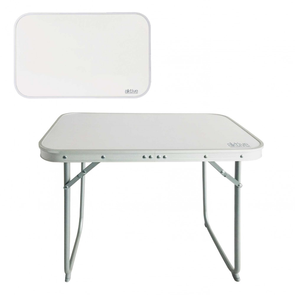 Aluminum folding table for camping Aktive Camping 60x40x50 cm