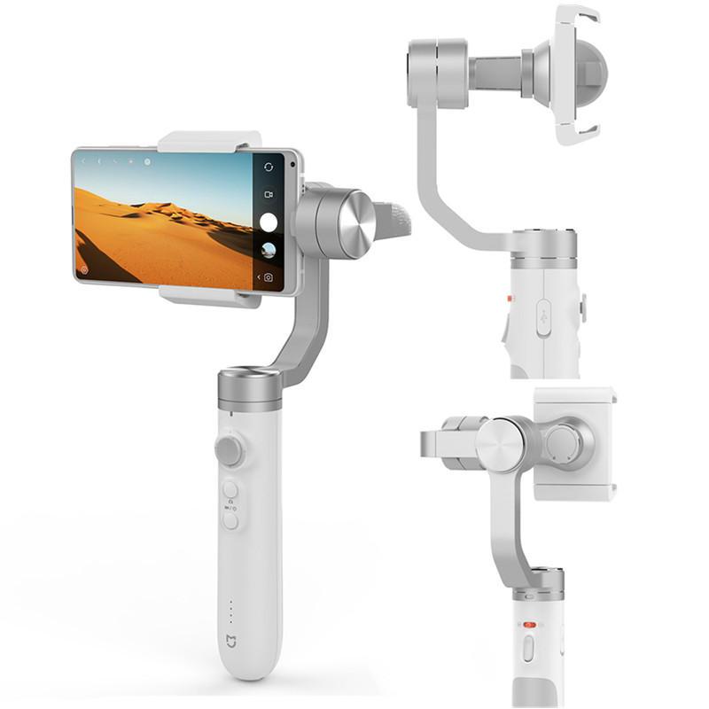 Mijia 3 แกน Handheld Gimbal Stabilizer Mi สมาร์ทโฟน GH2 Gimbals AI Smart TRACK 5000mAh สำหรับสมาร์ทโฟนกล้อง