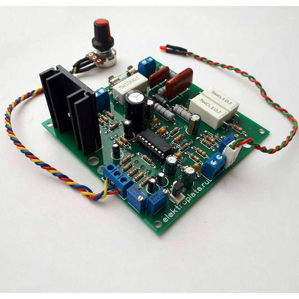 Регулятор оборотов для коллекторного двигателя с поддержанием мощности