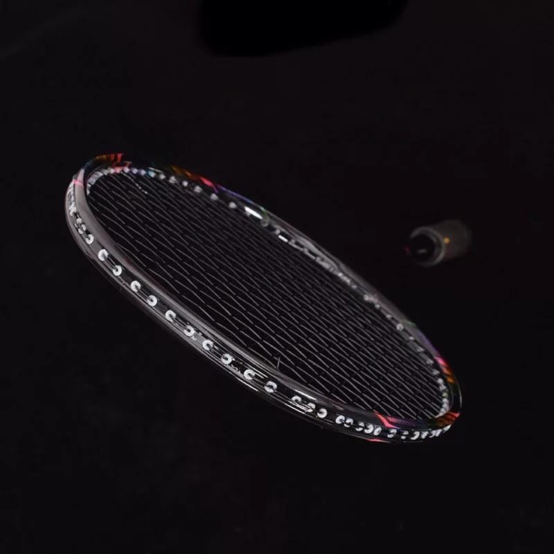 8U Professional 100/% Carbon Badminton Racket 24-30lbs G5 Ultralight Offensive
