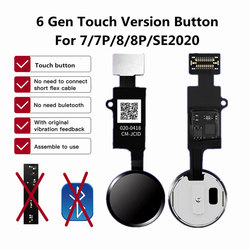 2020 New JC 6 Generation Home Button Flex For iPhone 7 8 Plus SE Universal Back Return Function Solution No Bluetooth Short Flex