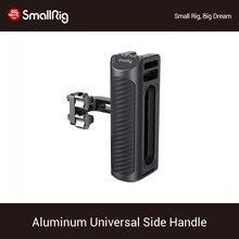 """SmallRig Universale In Alluminio Maniglia Laterale Per La Macchina Fotografica Gabbia Dotato di Due 1/4 """"Fori Filettati Con 18 millimetri Distanza Sul lato 2425"""