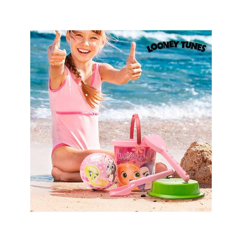 Beach Game With Ball Tweety Junior Knows (5 Pcs)